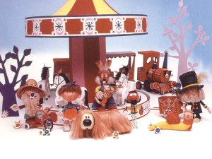 Le Manège enchanté, a.k.a. The Magic Roundabout - another TV gem of my childhood.