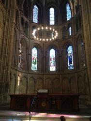 Inside the Cathédrale Saint-Pierre.