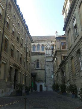 A street in the Vielle Ville in Geneva.
