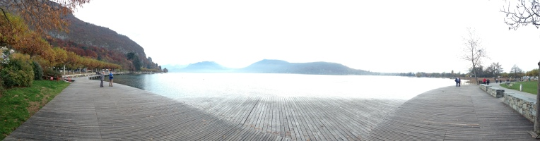 Panorama! Lac d'Annecy in all its glory.
