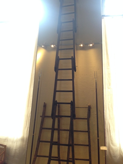 Genevan pride! Actual ladders dating from 1602 that the Savoyards used to scale the walls the night of l'Escalade.