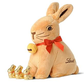 Cuddly Lindt bunny! Can I have one? Pleeease?