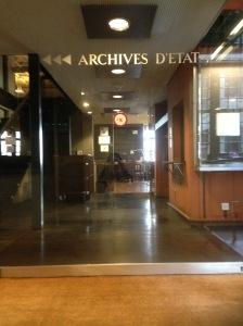 Archives d'Etat de Genève