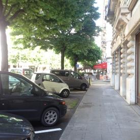 Boulevard Carl Vogt ensoleillé