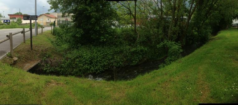 Ruisseau de la Drize panoramique